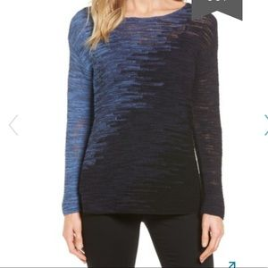 NIC+ZOE blurred lines pullover
